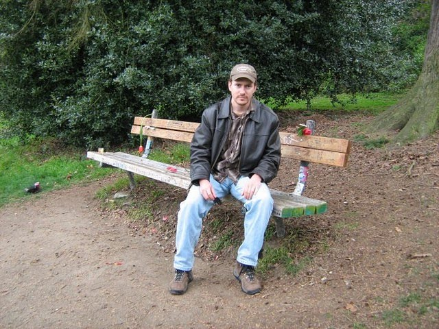 cobain_bench