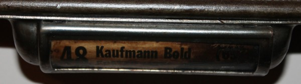 kaufmann drawer