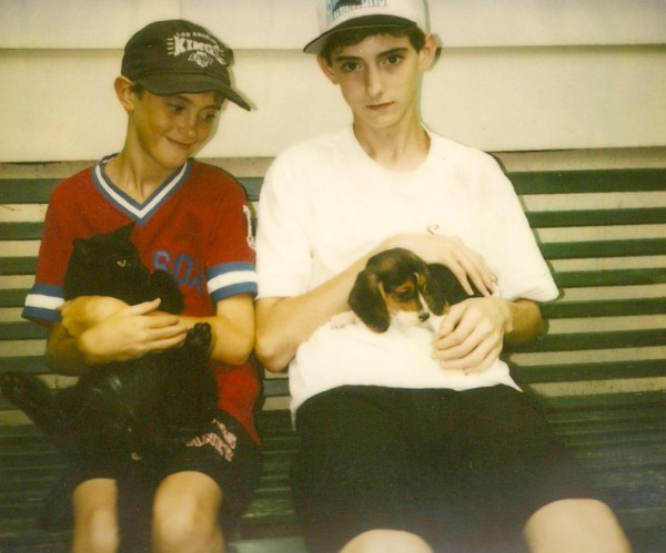 In 1994, Jake got some company when we got our beagle, Daisy.