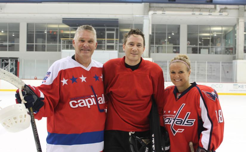Hockey Media vs. USA Warriors Charity Game