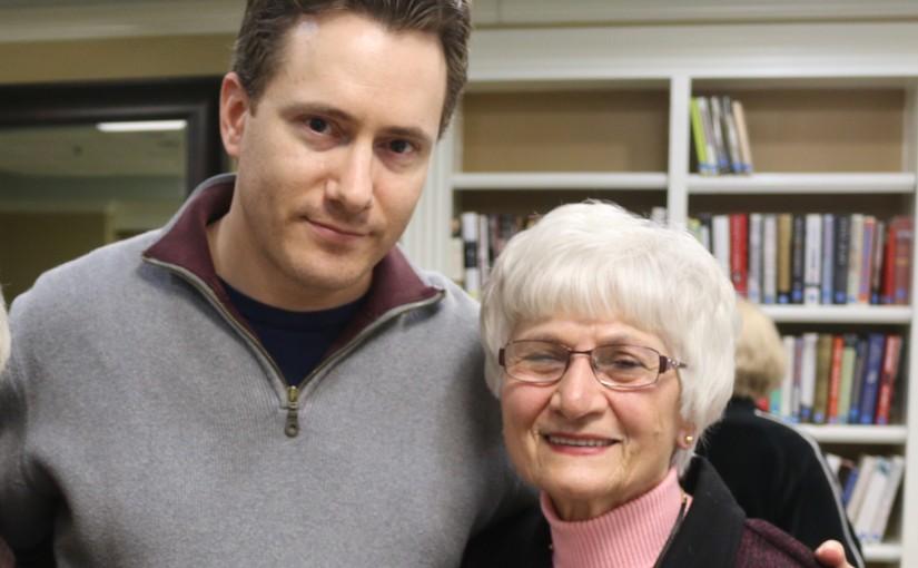 Holocaust Survivor Harriet Steinhorn-Roth
