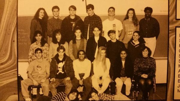 1993 Literary Magazine. Heather Coppley, top left.